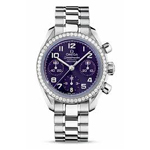 Omega Ladies' Speedmaster Automatic Chronometer Watch 324.15.38.40.10.001