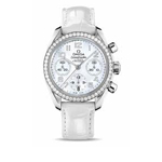 Omega Ladies' Speedmaster Automatic Chronometer Watch 324.18.38.40.05.001