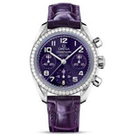 Omega Ladies' Speedmaster Automatic Chronometer Watch 324.18.38.40.10.001