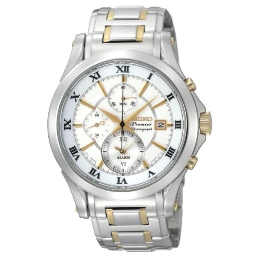 Seiko Premier Alarm Chronograph Watch