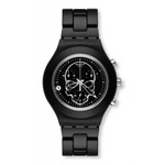 Swatch Full Blooded Black Skull Watch SVCF4001AG