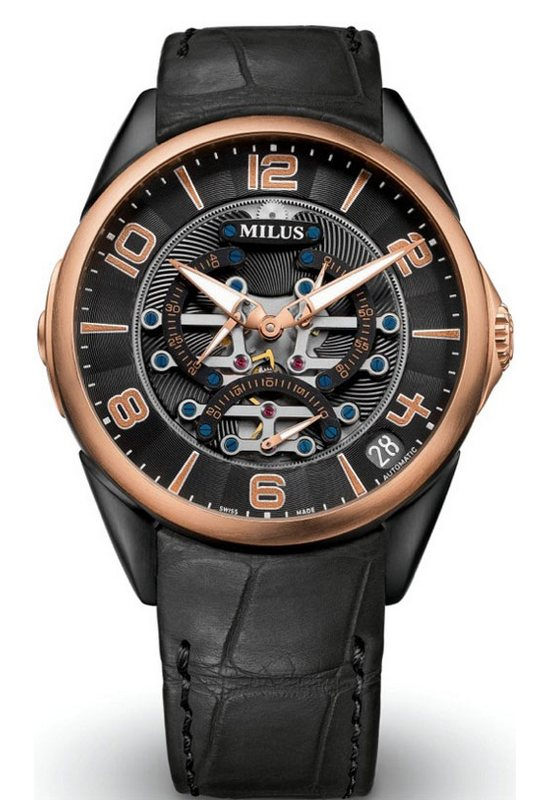 Milus TriRetrograde Seconds Watch