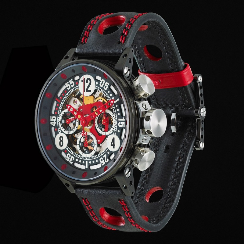 Bernard Richards Manufacture V12 Sport Watch