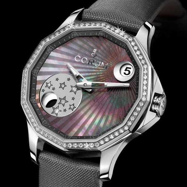 Corum Admiral's Cup Legend 38 Mystery Moon Watch