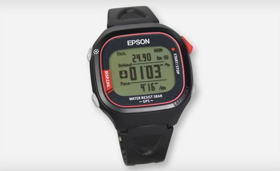 Epson GPS Running Monitor Watch