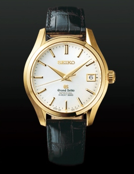 Grand Seiko Hi-Beat 3600 Watch Yellow Gold