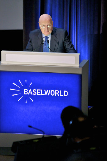 Jacques Duchene Baselworld 2012 Press Conference