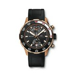 IWC Aquatimer Chronograph in 18-Karat Red Gold Watch IW376905
