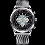 Breitling Transocean Chronograph Unitime Watch-3