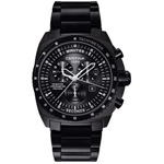 Certina DS Master Black Chronograph Watch C015.434.11.050.00