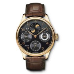 IWC Portuguese Perpetual Calendar Double Moonphase Watch IW503202