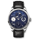 IWC Portuguese Perpetual Calendar Double Moonphase Watch IW503203