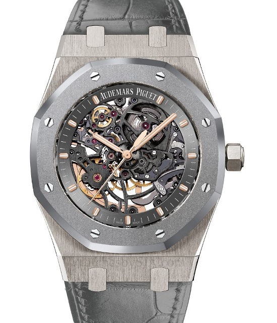 Audemars Piguet Royal Oak Skeleton Unique Piece Titanium Cermet Watch