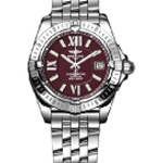 Breitling Windrider Cockpit Lady Stainless Steel Watch-A7135612/ K518