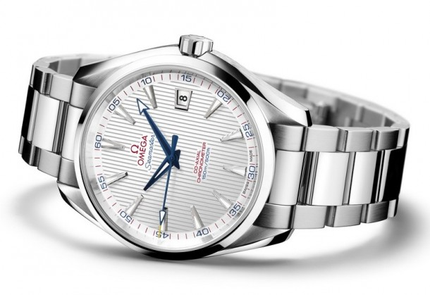 Omega Seamaster Aqua Terra Saptains Watch