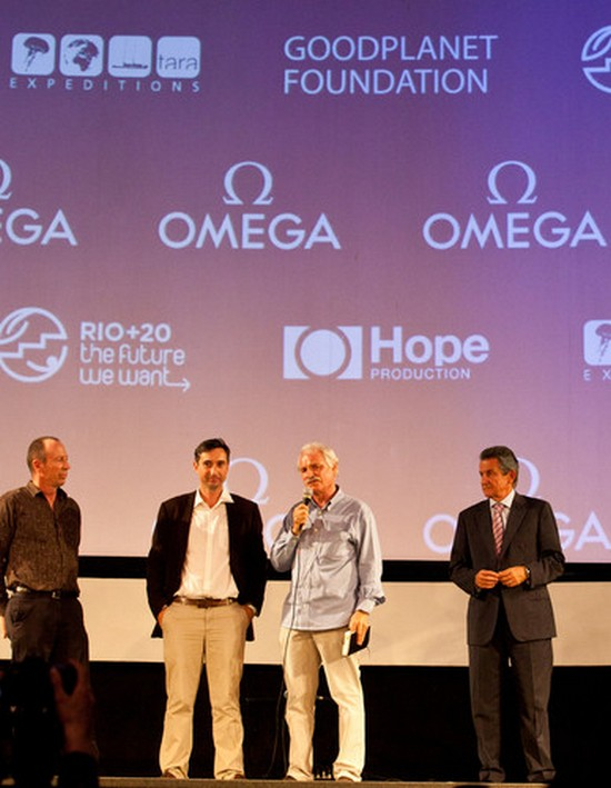 Yann Arthus-Bertrand at the Movie Premier in Rio
