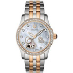 Bulova-Mechanical-Ladies-Double-Heart-Motif-Round-Watch-98R154