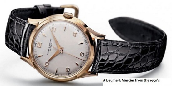Baume & Mercier 1950's Watch