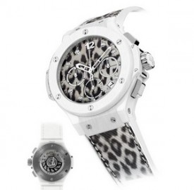 Hublot Big Bang Snow Leopard Maria Höfl-Riesch Watch