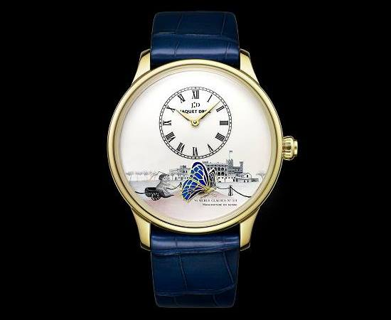 Jaquet Droz the Loving Butterfly for Only Watch