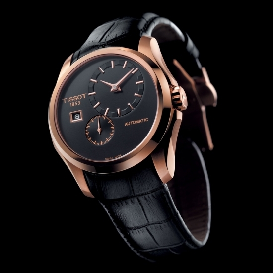 Tissot Couturier Small Second Watch