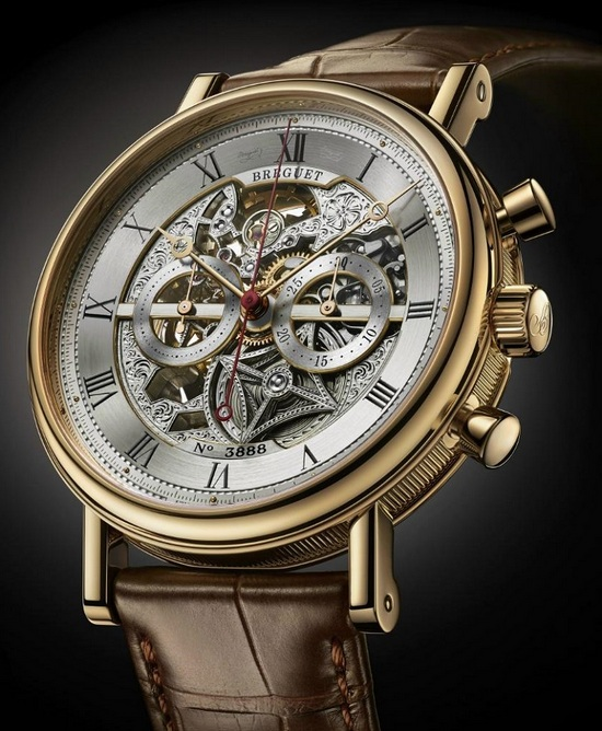 Breguet Classique Chronograph Openworked 5284 Watch