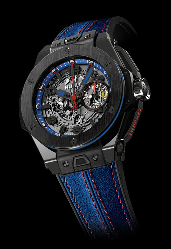 Hublot Big Bang Ferrari Beverly Hills Chronograph Watch