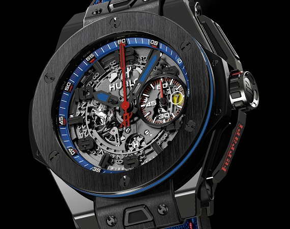 Hublot Big Bang Ferrari Beverly Hills Chronograph Watch Dial