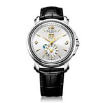 Emile-Chouriet-Lac-Leman-Dual-Time-White-Dial-Watch-15.1168.G42.6.8.28.2