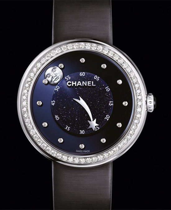 Chanel Mademoiselle Privé Moon Comet Watch