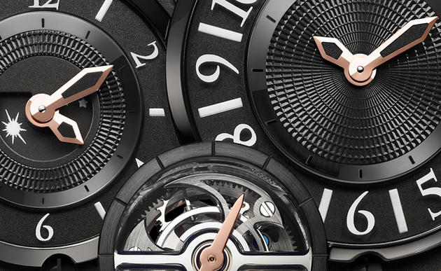 Harry Winston Ocean GMT Tourbillon Dial