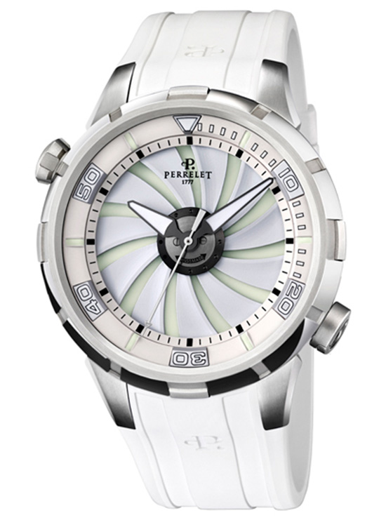 The New Perrelet Turbine Diver in White