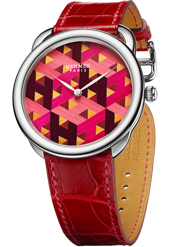 Hermes Arceau H Cube Limited Edition Watch