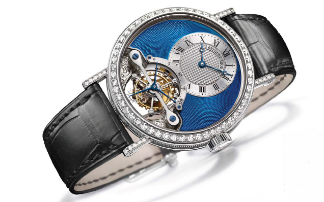 Breguet Classique Grande Complication Tourbillon Blue Dial Watch