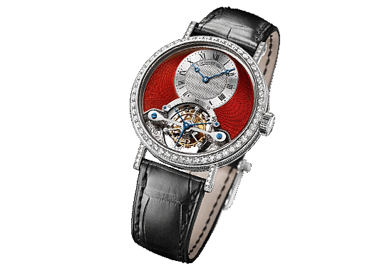 Breguet Classique Grande Complication Tourbillon Red Dial Watch