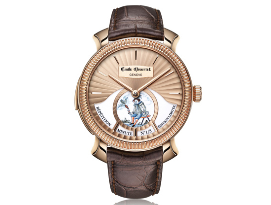 Emile Chouriet Wisdom Minute Repeater Watch