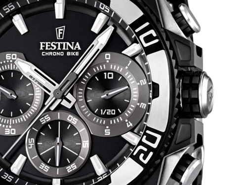 Festina Black Limited Edition 2013 Watch Dial