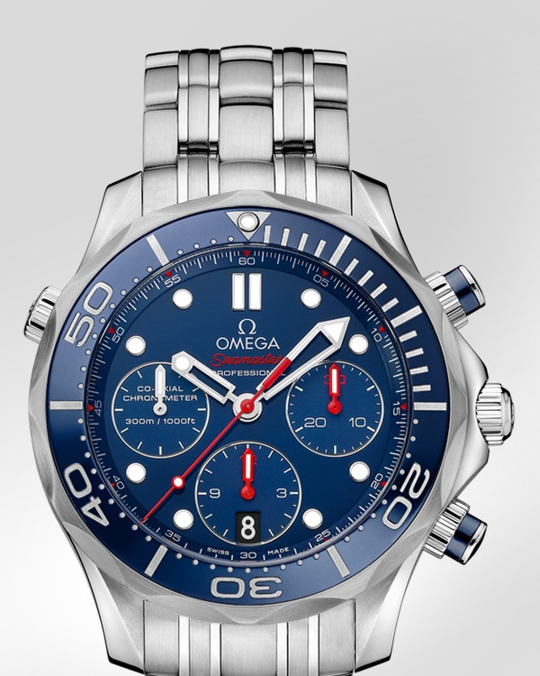 Omega Seamaster Diver 300m Chronograph Watch Case