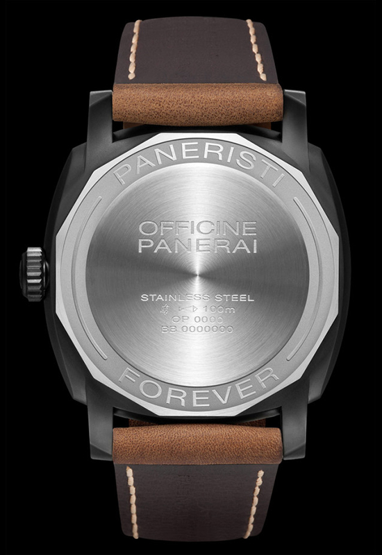 Panerai PAM 532 Paneristi Forever Watch Case Back