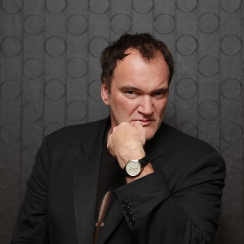 Quentin Tarantino With Girard Perregaux Watch