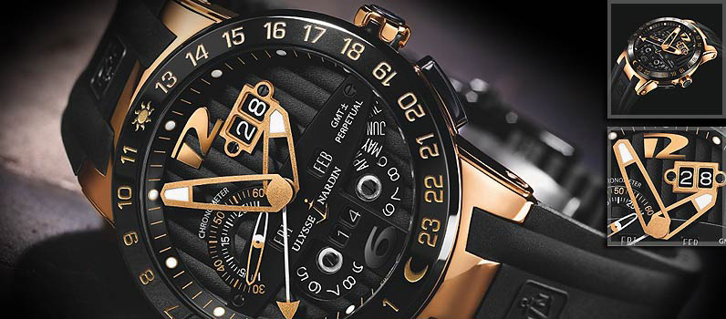 Ulysse Nardin Black Toro Watch