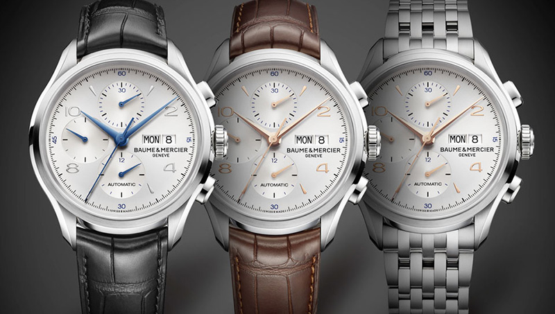 Baume & Mercier Clifton Chronograph Watches
