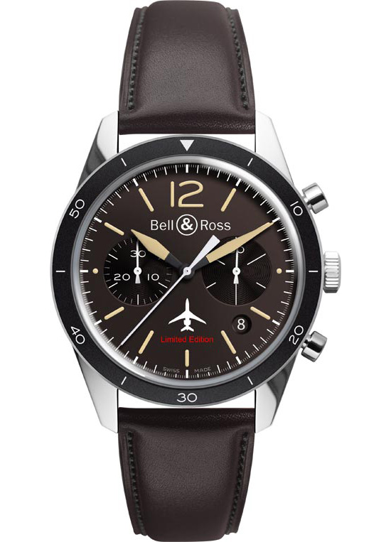 Bell & Ross Vintage BR 126 Falcon Chronograph Watch
