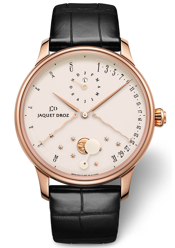 Jaquet Droz Perpetual Calendar Eclipse Enamel Watch