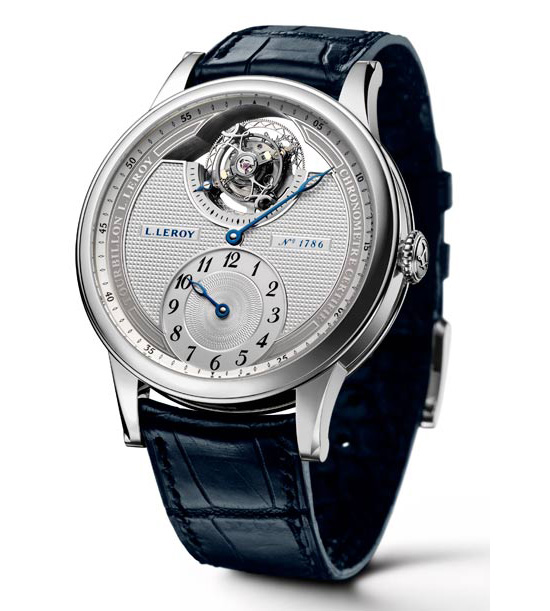 L.Leroy Osmior Tourbillon Regulateur LL104 Watch