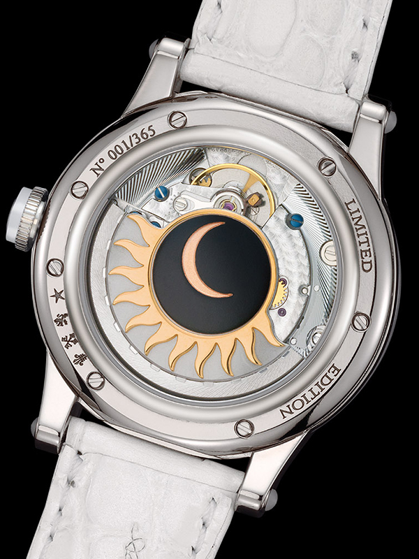 Louis Moinet Stardance Watch Back