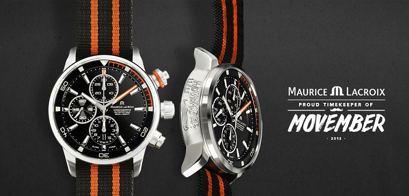 Maurice Lacroix Limited Edition Pontos S Diver Movember Watch