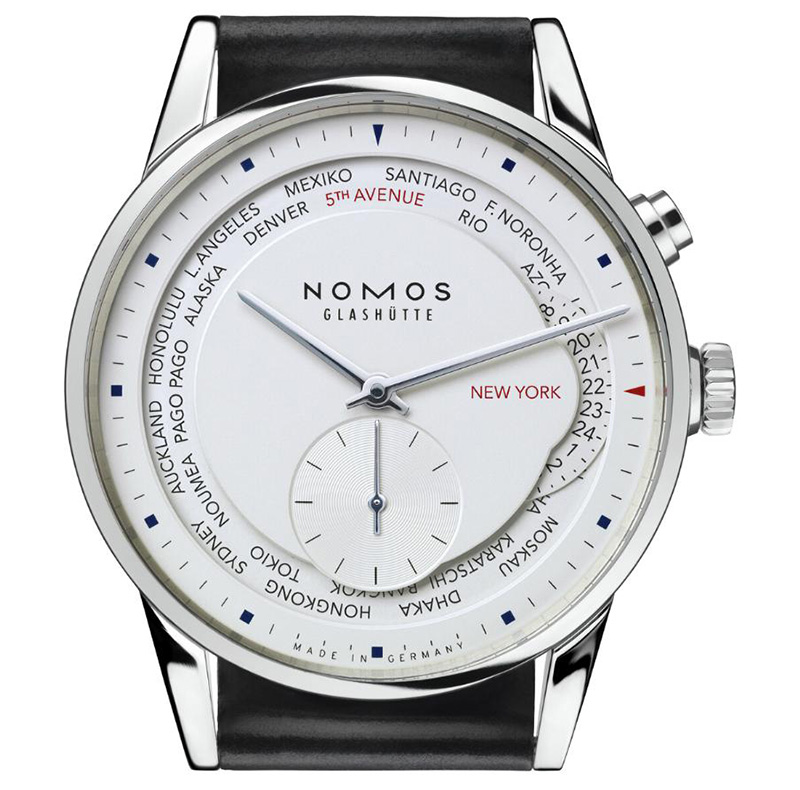 Nomos for Wempe Weltzeit 5th Avenue Watch Case