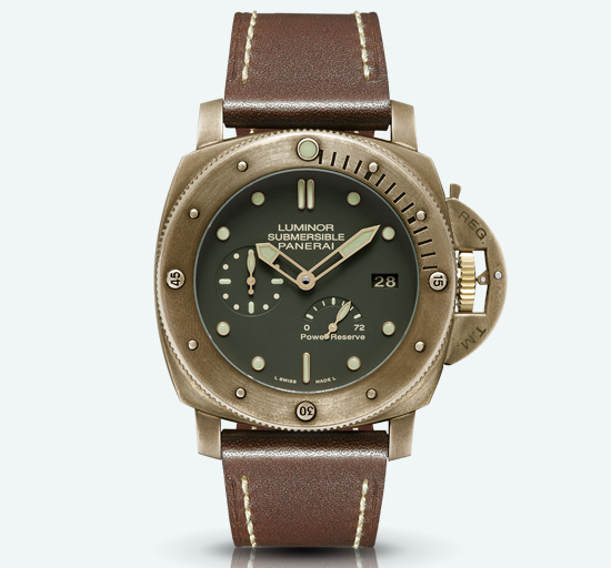 Panerai Luminor Submersible 1950 Automatic Bronzo Watch