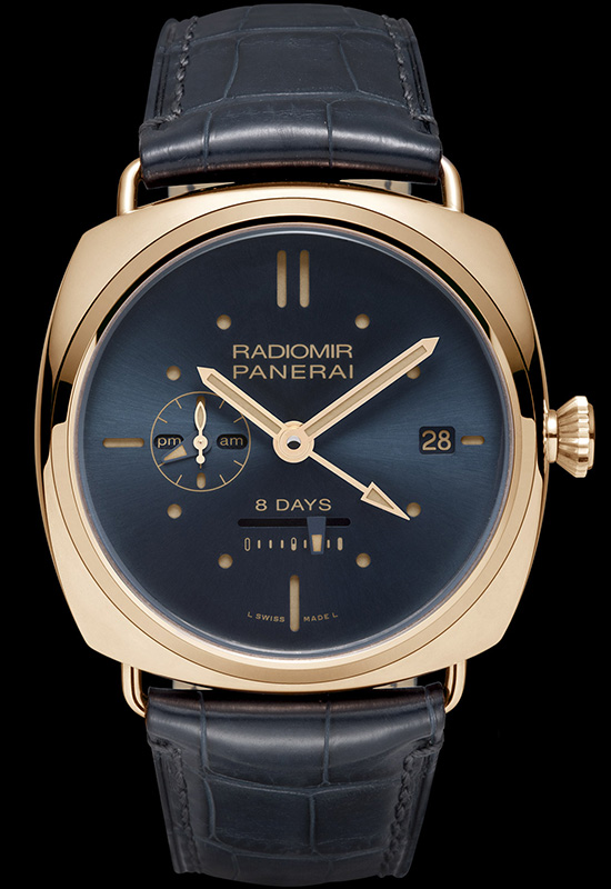Panerai Radiomir 8 Days GMT Oro Rosso PAM538 Watch